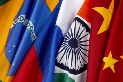 BRIC-Staaten: Wachstum rückläufig