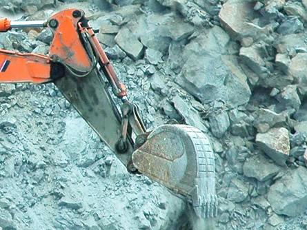 Neues Bergwerk im Erzgebirge