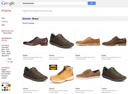 Bei Google Shopping auf Seite 1 mit dem passenden Tool