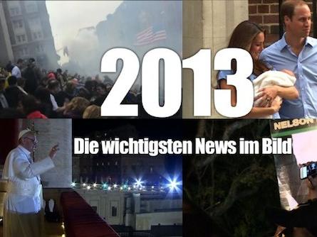 Das war 2013: Rückblick auf die wichtigsten News