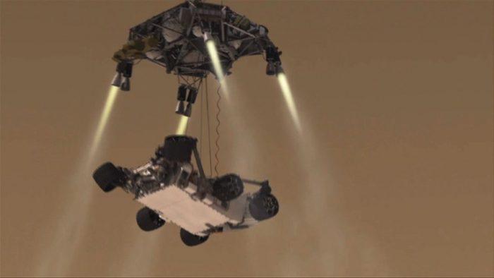 Spannung vor größter Mars-Landung aller Zeiten