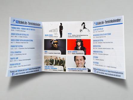 Drucksachen für das Corporate Identity