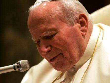 Helmut Kohl würdigt Johannes Paul II.