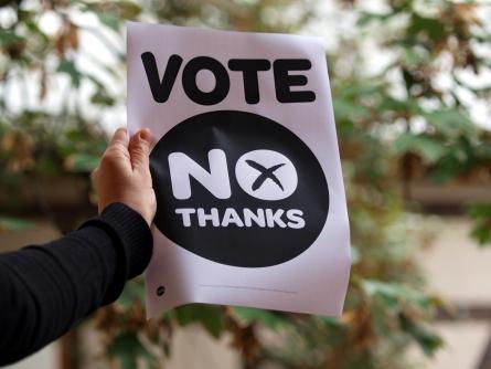 """Schotten sagen """"No"""" zur Unabhängigkeit"""