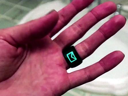 Der SmartRing – das kleinste Wearable