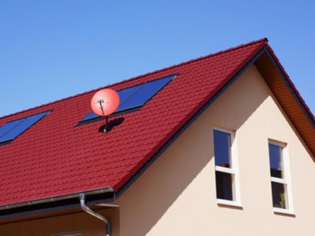 Dachantenne – Ton in Ton auf dem Dach