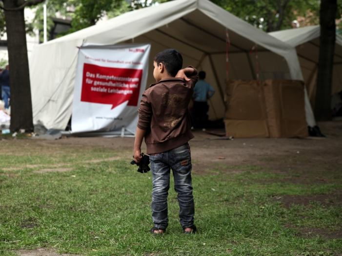 Immer mehr Angriffe auf Flüchtlingskinder