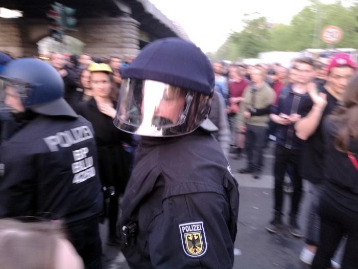 Polizeigewerkschaften befürchten Ausschreitungen am 1. Mai