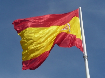 Spanische Flagge, Tom Anderson, Lizenz: dts-news.de/cc-by